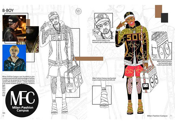 Fashion drawing book