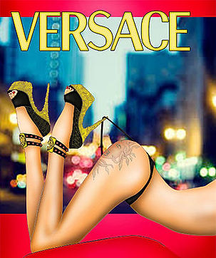 Sensual Fashion Illustration Book  Versace