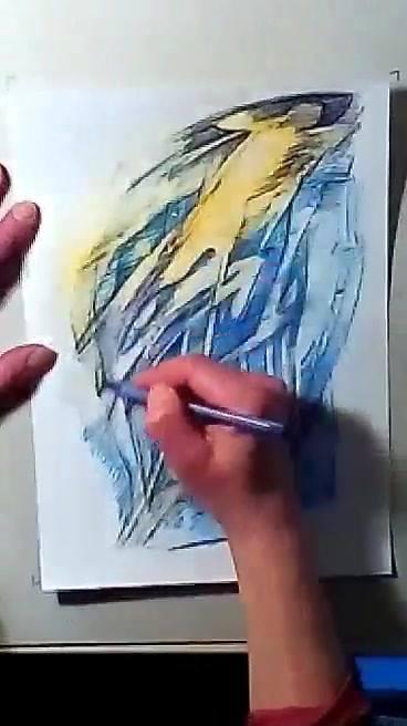 Ôh una nueva 1pro feutre bleu, bics et javel de Nuage 40 52'44 en temps réel: avec François Gallois aux manettes techniques