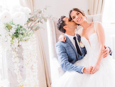 Bourton Hall Wedding Photoshoot