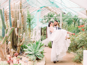A Tropical Wedding Photoshoot