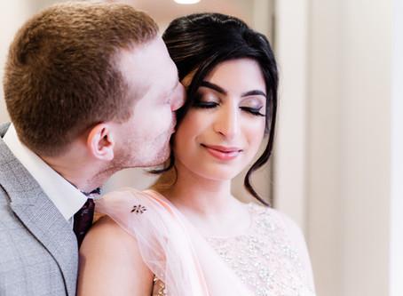 Fatima & Nick, an intimate multicultural wedding