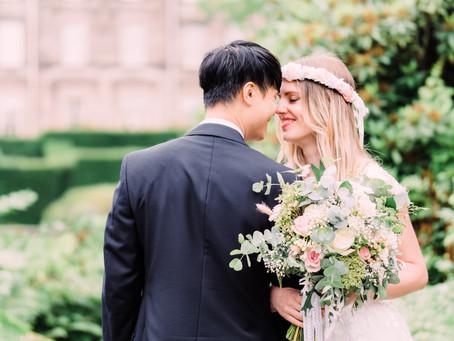Wedding Photography in Biddulph Grange Garden