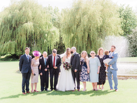 13 Important Tips for Family Portraits / Group Photos at Your Wedding