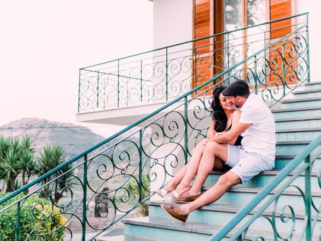Pre-wedding Photoshoot in Sorrento, Italy