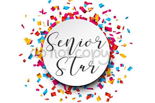 Senior Star Rank Card