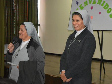 Visita de Sor Edith Franco, FMA, superiora provincial de Nuestra de Chiquinquirá
