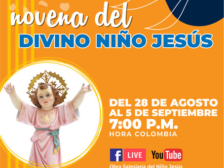 Estamos viviendo la Novena al Divino Niño Jesús