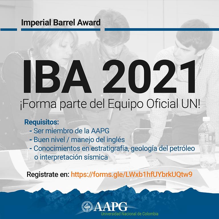 Fecha límite de inscripción al IBA 2021