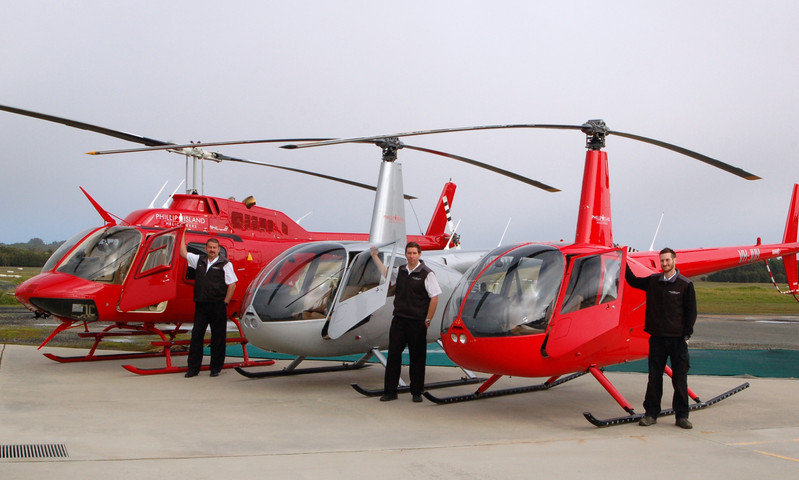 Phillip Island Helicopters Team