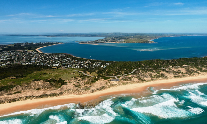 View over Phillip Island