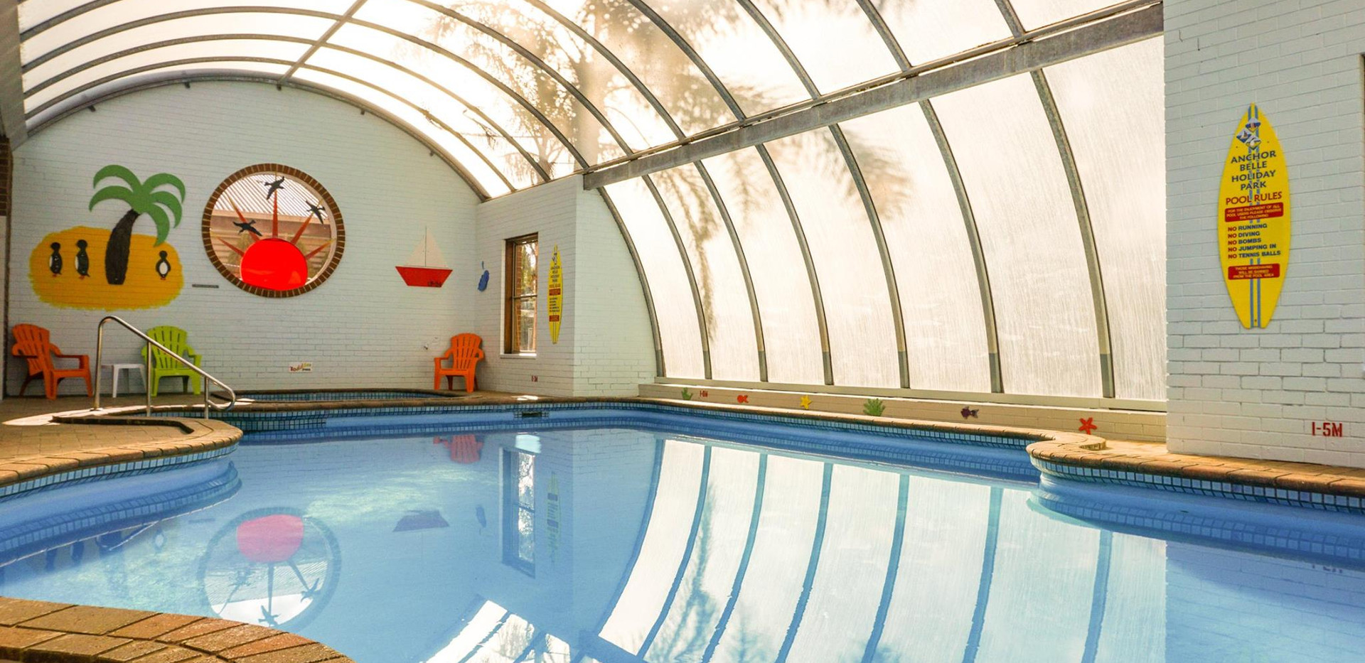 Indoor Heated Pool (closed Vic 3rd Term)