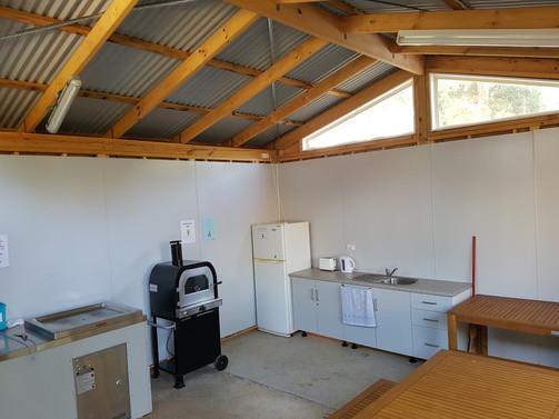 Camp Kitchen.