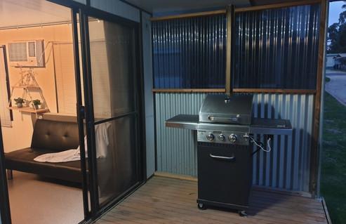 BBQ and front verandah