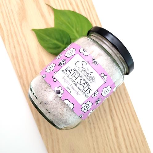 English Lavender Aromatherapy Bath Salts