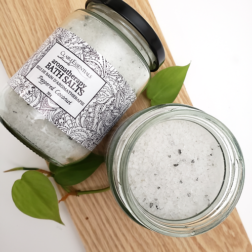 Peppered Coconut Aromatherapy Bath Salts