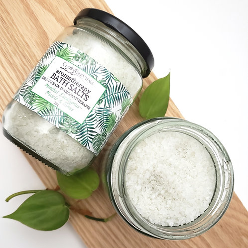 Muscle & Sinus Aromatherapy Bath Salts
