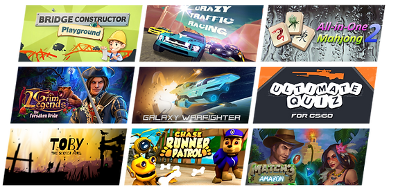 Games published by TuuT
