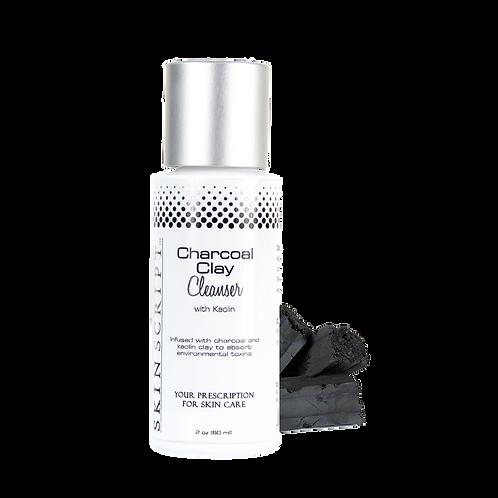 Skin Script Charcoal Clay Cleanser 2oz