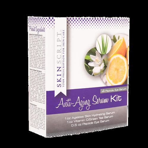Skin Script Anti-Aging Serum Kit (with Peptide Eye Serum)