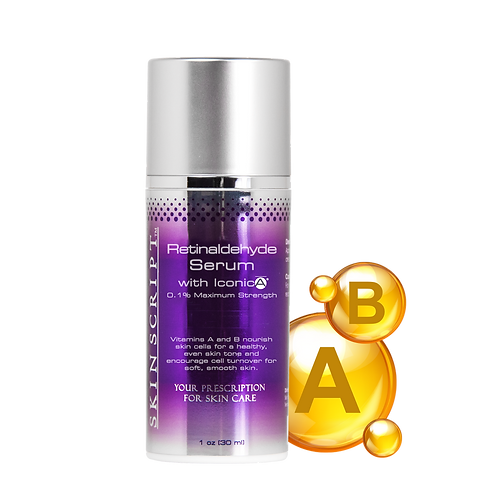 Skin Script Retinaldehyde Serum with IconicA® 1oz