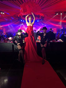 WinterWorks Entertainment - Hollywood Oscars Theme - Red Carpet lady - Grand entrance - Stilt Walker - Events - Entertainment - Liverpool