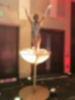 WinterWorks Entertainment - Giant Champagne Glass - Showgirl Dancers - Events