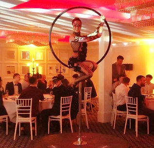 WinterWorks Entertainment - Venetian Masquerade - Aerial - Aerialist - entertainment - events - liverpool - manchester