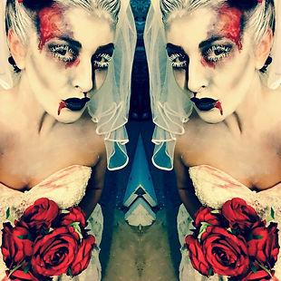 WinterWorks Entertainment, Zombie Bride, Halloween Events, Halloween theme, liverpool, Actors, Halloween Bride