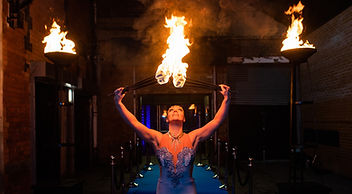 WinterWorks Entertainment - Hollywood Oscars Theme - Fire - Fire Performers - Event Entertainment - Liverpool