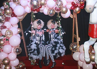 WinterWorks Entertainment - Circus - Circus theme - Circus Entertainment - Clowns - Giveaway Girls - Dancers - Circus Show - Mix and Mingle - Events - Event Entertainment