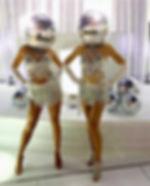 WinterWorks Entertainment - Mirror Heads -Disco Mirror Heads - Disco Ball Heads - Events