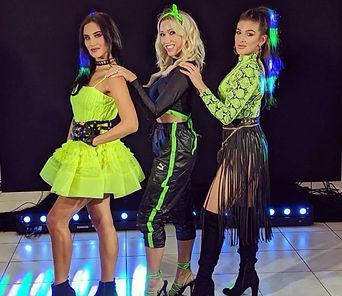 """WinterWorks Entertainment present """"Popstars"""". Popstars girlbands a high energy show featuring stunning vocals & harmonies with the latest dance moves. Popstars show is perfect for any family event. Book now."""