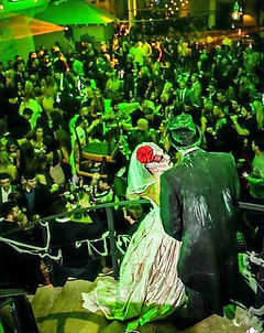 WinterWorks Entertainment, Zombie Bride and Groom, Halloween entertainment, Halloween Theme, Events Liverpool