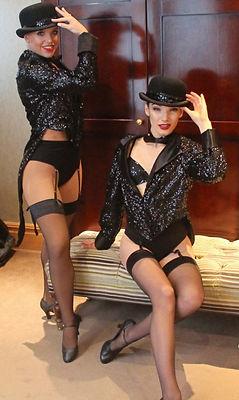 WinterWorks Entertainment - Moulin Rouge Entertainment - Burlesque dancers - Hospitality - Dancers - Top Hat and tails