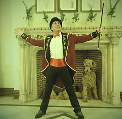 WinterWorks Entertainment - Circus - Ring Master - Compere - Master of ceremonys - Singer - Event Entertainment