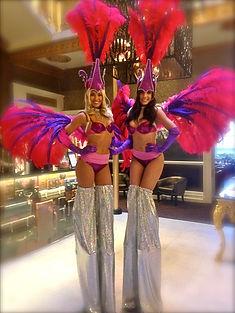 WinterWorks Entertainment - Stilt Walkers - Showgirls - Samba - Events