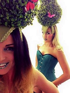 WinterWorks Entertainment - Spring Garden Theme - Topiary Girls - Stilt walkers - events - entertainment - liverpool