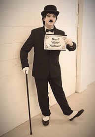 WinterWorks Entertainment - Charlie Chaplin - Silent Movie Characters - Events
