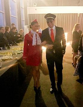 WinterWorks Entertainment - Airline Theme - Air Hostess - Pilot - Actors - Meet & Greet - Events