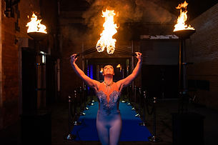 WinterWorks Entertainment - Fire performers - Fire artists for events