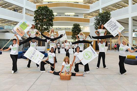 WinterWorks Entertainment - Flash Mob - Brand Promotions - PR - Cheerleaders