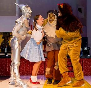 WinterWorks Entertainment - Wizard of Oz - Dance Team - Production show - Dorothy - Tin man - Lion - Scarecrow