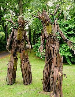 WinterWorks Entertainment - Spring Garden theme - Living trees - Stilt Walkers - events - entertainment - liverpool