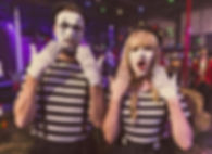 WinterWorks Entertainment - Circus - Circus theme - Clown - Mime Clowns - Interactive entertainment - Event Entertainment