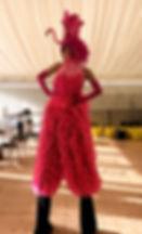 WinterWorks Entertainment - Animal Theme - Stilt Walker - Flamingo - Events