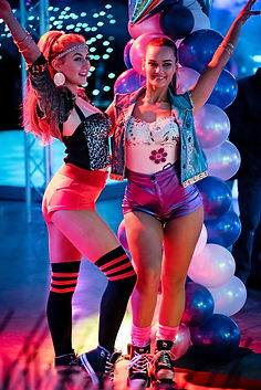 WinterWorks Entertainment - 80s entertainment - roller skaters - hospitality - event entertainment