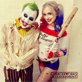 WinterWorks Entertainment, Jokers Asylum, Joker, Harlequin, Halloween events, Halloween Theme, Liverpool, Events, Actors