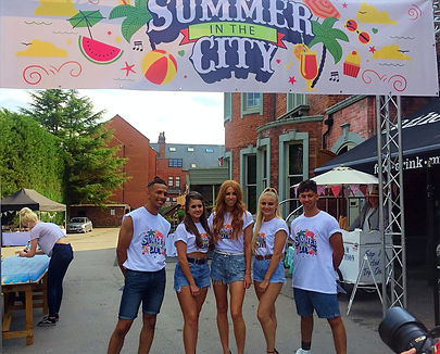 WinterWorks Entertainment, Promotions, Promo Staff, Event Staff, Events, Models, Actors, Dancers, Flash Mob, PR, Marketing, Video & photographic marketing, Liverpool , Manchester Hostess, Event Entertainment, Event Staffing solutions. Leeds, Summer in the city, summer party event.