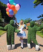 WinterWorks Entertainment - Alice In Wonderland - Alice - Hospitality - Events
